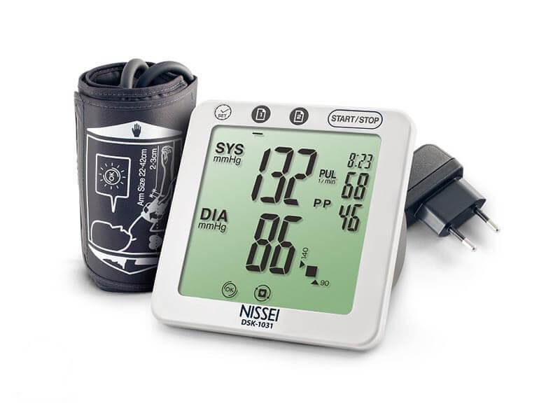 Profesjonalny ciśnieniomierz elektroniczny - Nissei DSK-1031